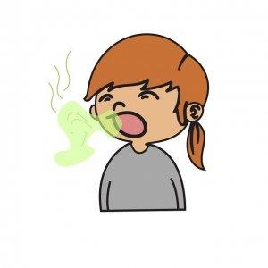 Жена с лош дъх