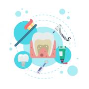 поставяне на зъбни импланти