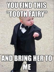 Меме за феята на зъбките