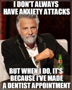 Паник атака след час при зъболекаря